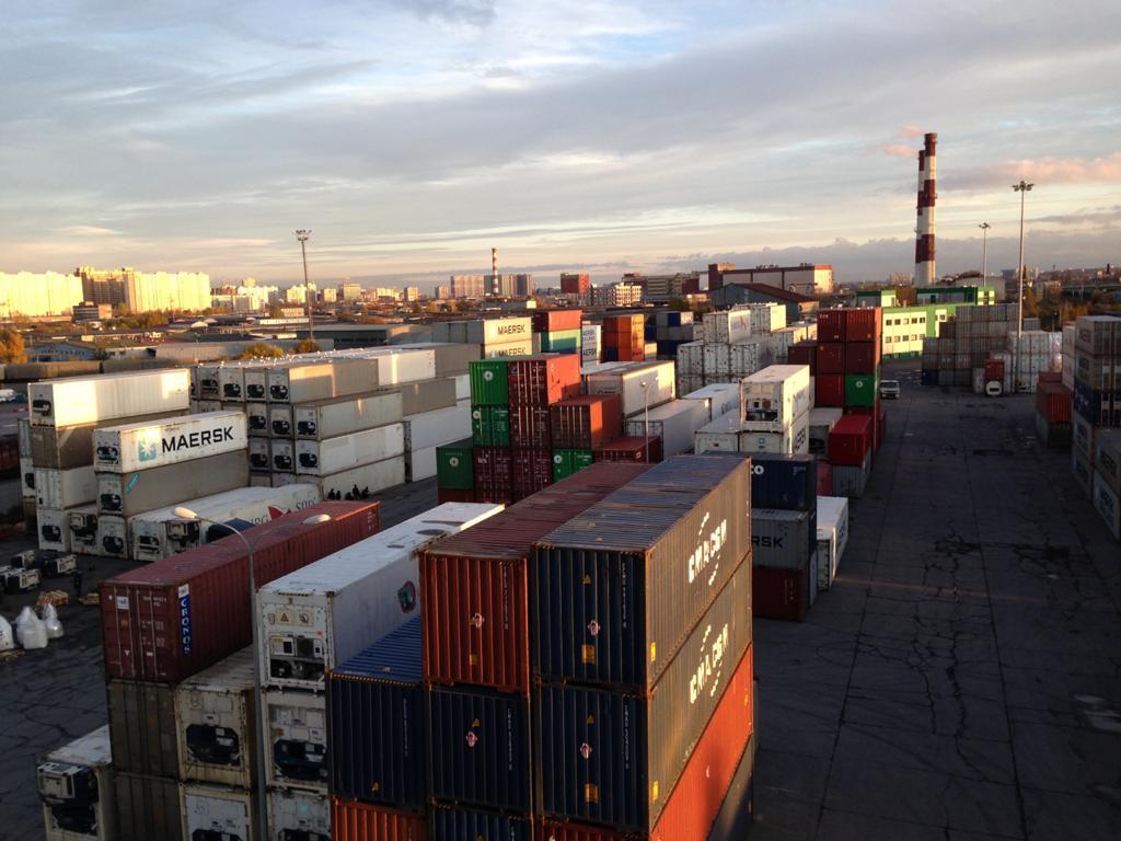 Terminal cargo handling картинка